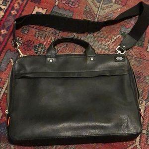Men's Jack Spade Soft Leather Briefcase